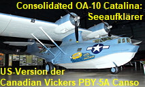 Consolidated OA-10 Catalina: Version der Canadian Vickers PBY-5A Canso für die U.S. Army Air Force