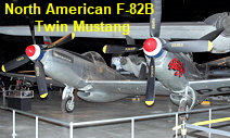 North American F-82B Twin Mustang