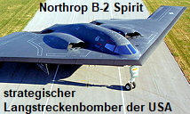 Northrop B-2 Spirit: strategischer Tarnkappenbomber der US Air Force f�r Langstrecken