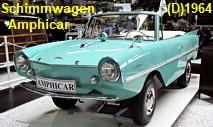 Amphicar - Schimmwagen:  500 Amphicars sollen bis heute noch in Betrieb sein