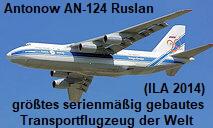Antonow AN-124-100 Ruslan: Das größte serienmäßig gebaute Transportflugzeug der Welt