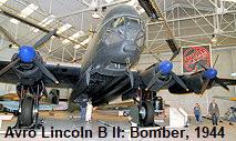 "Avro Lincoln B II: Nachfolger des legendären Bombers Avro ""Lancaster"" von 1944"