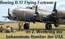 """Boeing B-17 """"Flying Fortress"""": war im 2. Weltkrieg der bekannteste Bomber der USA"""
