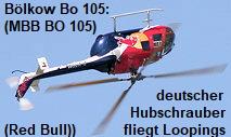 Bölkow Bo 105 (MBB BO 105): Hubschrauber der Hersteller Messerschmitt, Bölkow, Blohm
