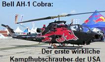 Bell AH 1 Cobra: Der erste echte Kampfhubschrauber der US-Firma Bell Helicopters (The Flying Bulls von Red Bull)
