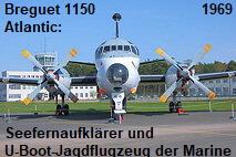 Breguet 1150 Atlantic: Seefernaufklärer und U-Boot-Jagdflugzeug der deutschen Marine