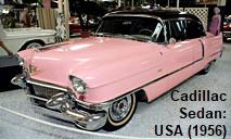 """Cadillac Sedan: Elvis Presley hatte mehrere """"Caddies"""" in dieser Farbe"""
