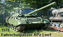 Fahrschulpanzer KPz Leo1