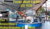 Focke-Wulf Fw 61: Der erste wirklich brauchbare Hubschrauber der Welt