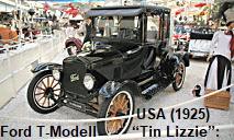 """Ford T-Modell """"Tin Lizzie"""": Erstes am Fließband in Großserie hergestelltes Fahrzeug"""