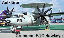 Grumman E-2C Hawkeye: allwetterfähiges, trägergestütztes Flugzeug zur Überwachung des Luftraums