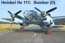 """Heinkel He 111 - Der erste Einsatz einer He 111 B-1 erfolgte im spanischen Bürgerkrieg im Jahr 1937 mit der Bombereinheit """"Legion Condor."""""""