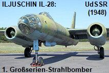 Iljuschin IL-28: der erste in großen Stückzahlen hergestellte Strahlbomber der Welt (NATO-Code: Beagle)