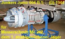 Junkers Jumo 004 B-1: Strahltirebwerk