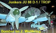 Junkers JU 88 D-1 / TROP - Deutscher Bomber im Zweiten Weltkrieg