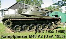 Kampfpanzer M48 A2 C Patton: In Deutschland von 1955 bis 1993 im Bestand