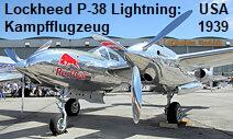 Lockheed P38 Lightning: Kampfflugzeug der USA des Zweiten Weltkrieges