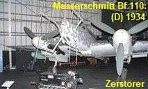 Messerschmitt Bf 110 G-4: neugeschaffene Gattung d. Zerstörers - später Nachtjäger