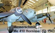 Messerschmitt Me 410 Hornisse: 2-sitziges Kampfflugzeug der Klasse Zerstörer