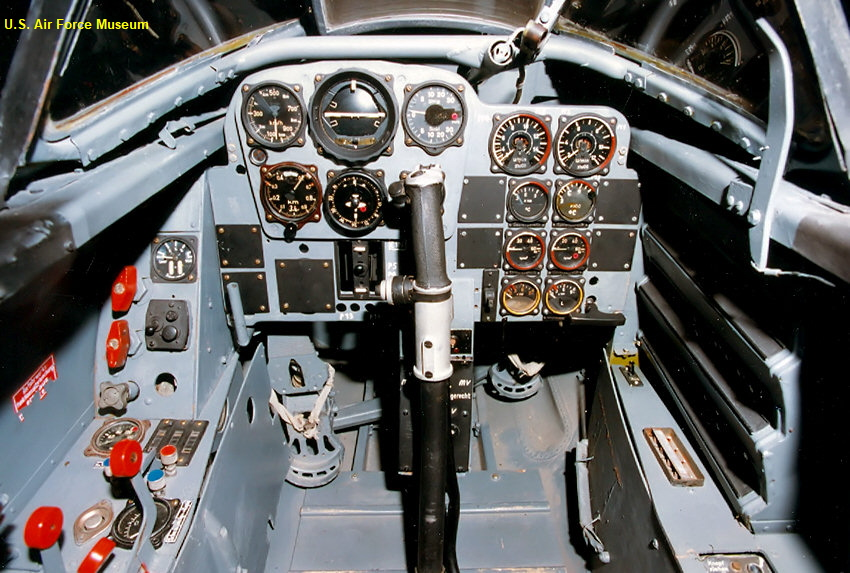 Messerschmitt Me 262 - Cockpit