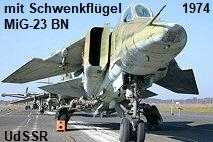 MiG-23 BN, Mikojan-Gurewitsch: Jagdbomber mit Schwenkflügel der UdSSR