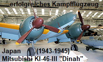 """Mitsubishi KI-46 III """"Dinah"""": eines der schnellsten japanischen Kampfflugzeuge"""