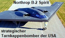 Northrop B-2 Spirit: strategischer Tarnkappenbomber der U.S. Air Force für Langstrecken (Stealth-Bomber)