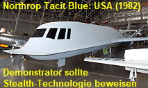 Northrop Tacit Blue: Demonstrator, zum Test der Stealth-Technologie
