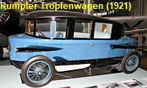 Rumpler Tropfenwagen: Luftfahrt Know-how im Automobilbau