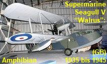 Supermarine Seagull Walrus: Amphibienflugzeug von 1935 bis 1945